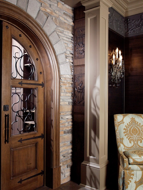 Wine Cellar Entry Doors Design Pictures Remodel Decor And Ideas