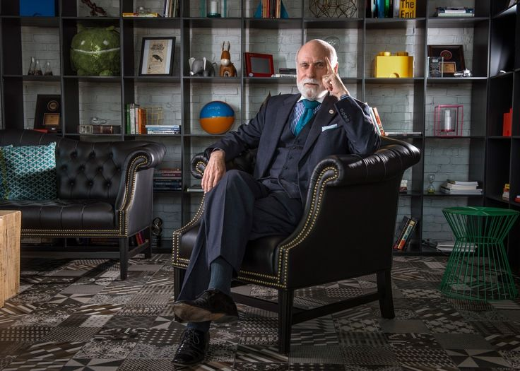 "Vinton G. Cerf, now a Google executive, says he wishes that he and fellow computer scientist Robert E. Kahn had been able to build encryption into TCP/IP from the beginning. Widely known as a ""Father of the Internet,"" Cerf is the co-designer of the TCP/IP protocols and the architecture of the Internet. In December 1997, President Bill Clinton presented the U.S. National Medal of Technology to Cerf and his colleague, Robert E. Kahn, for founding and developing  the Internet."