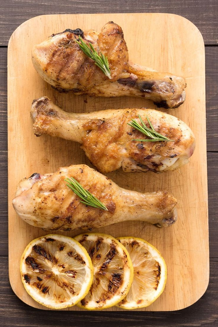 Lemon and garlic chicken drumsticks - Marinate over night to make this a quick mid-week meal