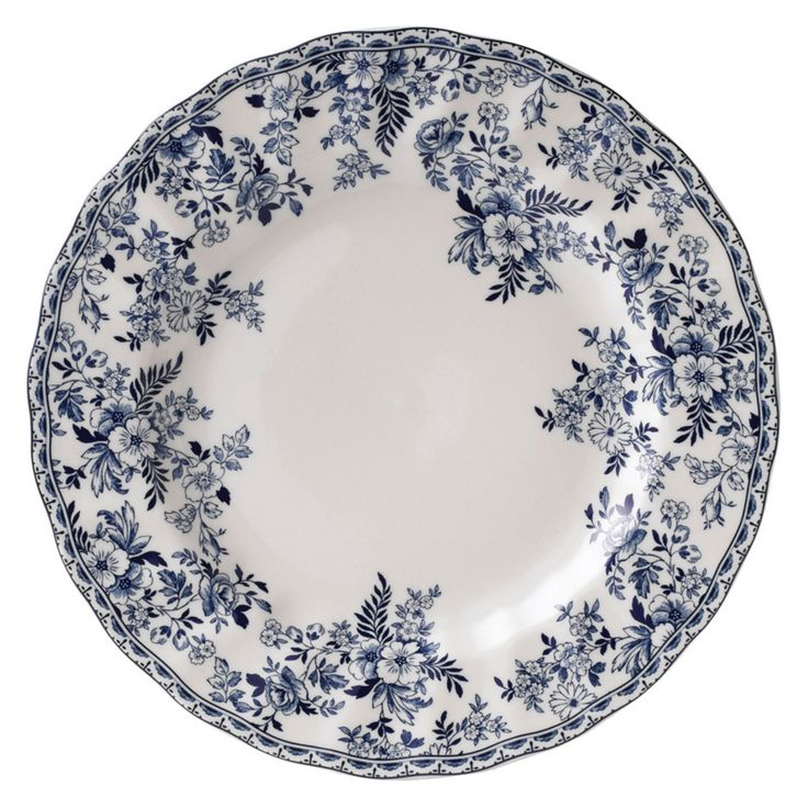 Johnson Brothers Casual Devon Cottage Earthenware Dinner Plate - Set of 6 - WEDG654
