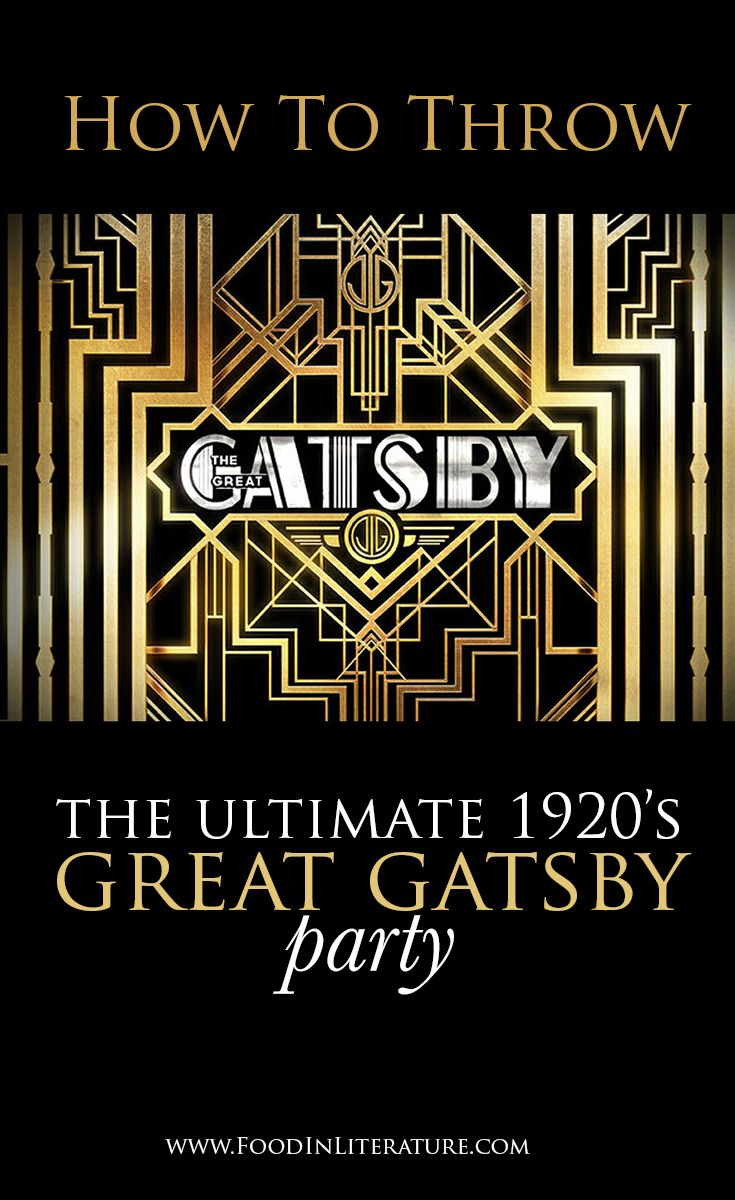 Throw the ultimate 1920's Great Gatsby party. We've done ...
