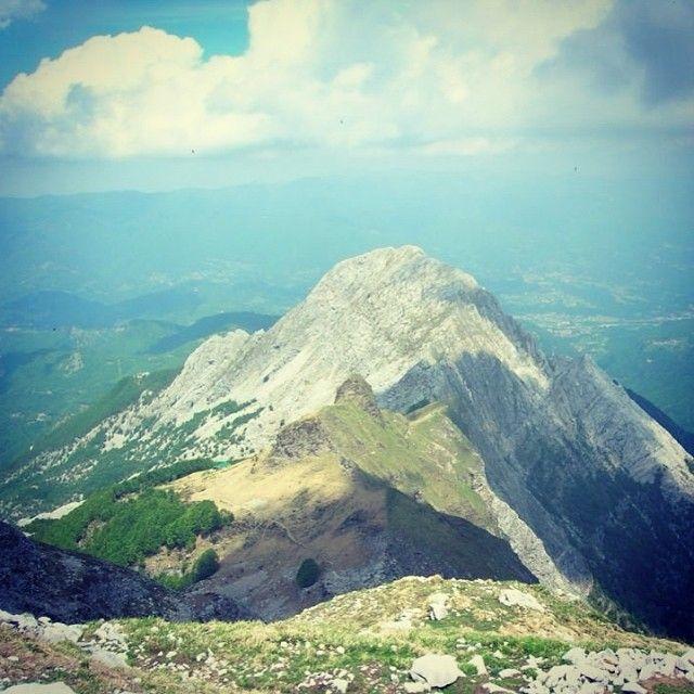L'Uomo Morto e la Pania Secca - Alpi Apuane
