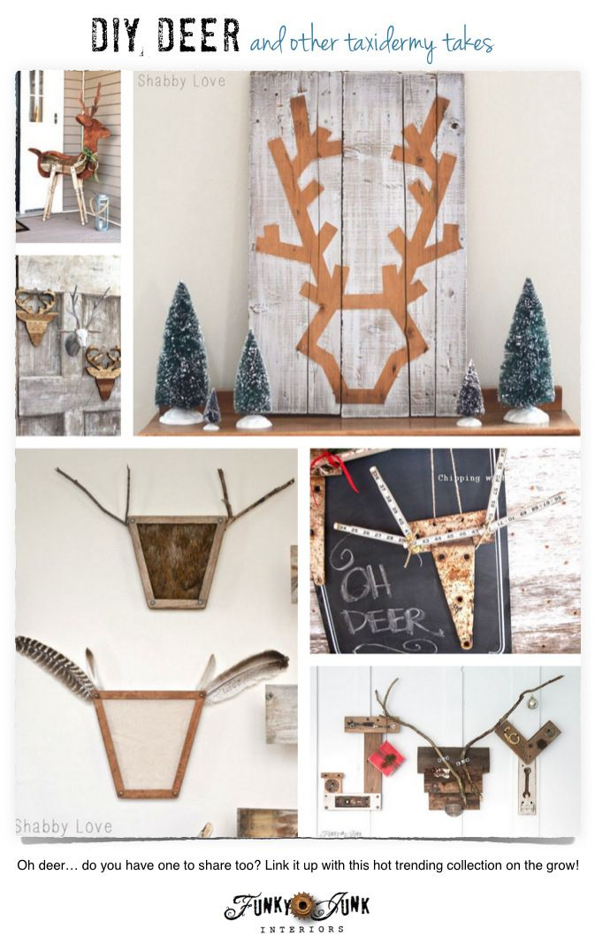 Diy Deer And Other Taxidermy Takes Taxidermy And Creative