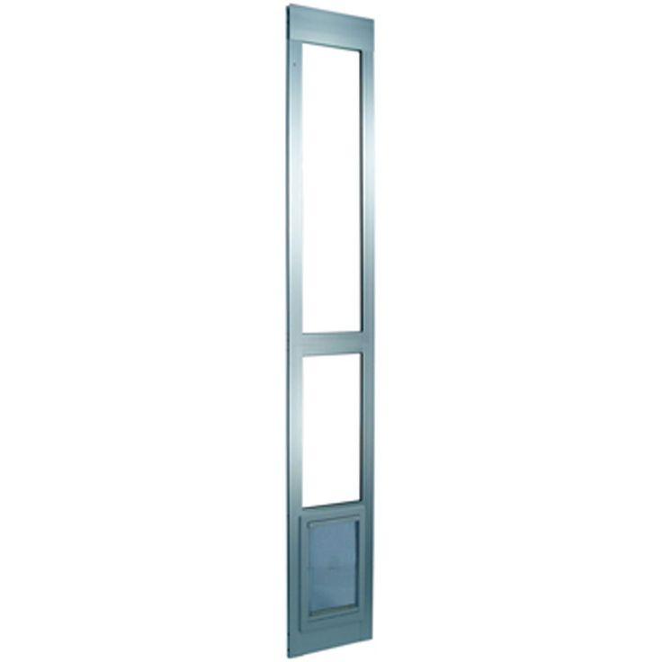 Small Modular Patio Panel Pet Door Color: Mill   : Cats furniture