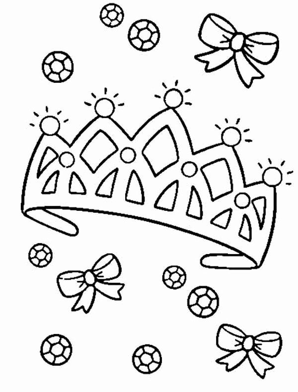Princess Crown Coloring Page Fresh Princess Tiara Coloring Pages Coloring Home Princess Coloring Pages Coloring Pages New Year Coloring Pages