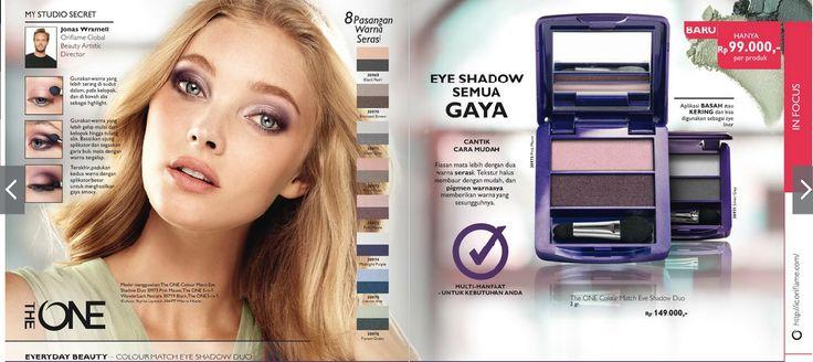 Eye Shadow yang sumpah kece badai, dijamin favorit. Dipakai sendiri juga pasti keren. - Ada 2 warna, warna yg soft dan warna yg dark nya, jadi cocok banget untuk bikisn riasan SMOKEY EYES - Bisa diaplikasikan BASAH ataupun KERING. Basah yang shimering (berkilau) atau kering yang soft - Bisa digunakan sebagai EYE LINER  HIGHLY RECOMMENDED!