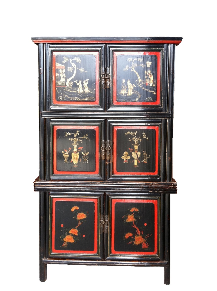 Aged Painted Cabinet · Asian FurnitureAsian StyleFurniture ...