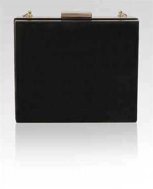 Black Transparent Designer Clutch - shop online now at www.niclaire.com.au #niclaire #australianfashion #clutch #clutchbag #eveningwear #eveningbag #acrylicclutch #black