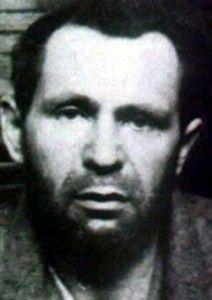 Heriberto Quiñones, poco antes de su ejecución.