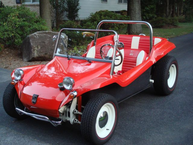 This is the one you're looking for!!!!  This is an original Meyers Manx Dune Buggy that has been redone and the workmanship is incredible.  Everything on this has been brought up to the best standards the details on this car are