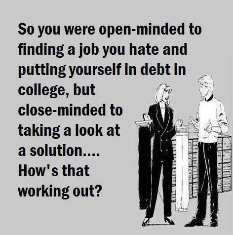 Just think about it. Advocare could be the solution to all your financial goals! Contact me to explain www.advocare.com/150347599