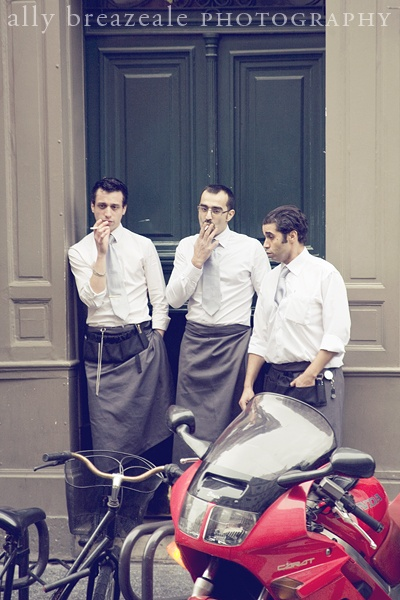 paris waiters.