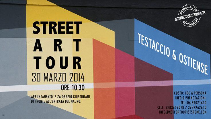 STREET ART TOUR - TESTACCIO & OSTIENSE