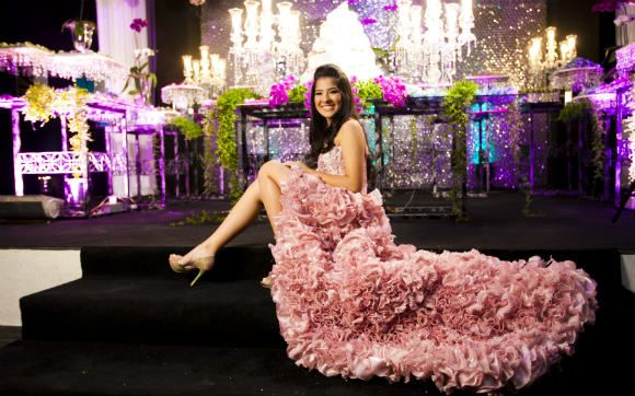 Inspire-se na festa incrível da Amanda Miaki! - 15 anos - CAPRICHO