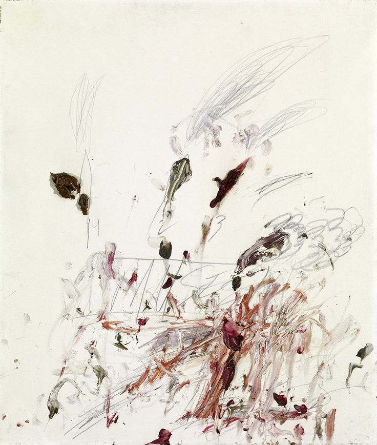 Cy Twombly - Muses (1963)