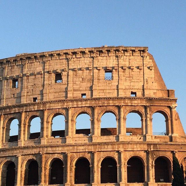 Rome's famed Colosseum courtesy of irun4wine on Instagram.