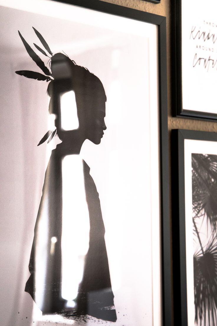 Reflection / Poster Gallery / Juniqe / Ruben Ireland / Interior / Black & White
