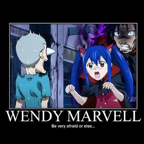 dont you dare not be afraid by wendy fairy tail