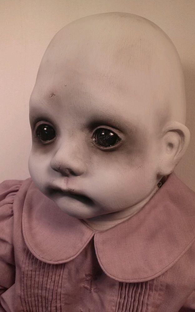 Fannie, Creepy OOAK Reborn,Horror, gothic Doll in Dolls & Bears, Dolls, Art Dolls-OOAK   eBay