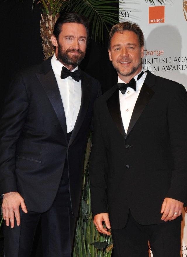 Hugh Jackman & Russell Crowe