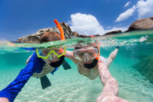Snorkel Excursion at Belize Barrier Reef