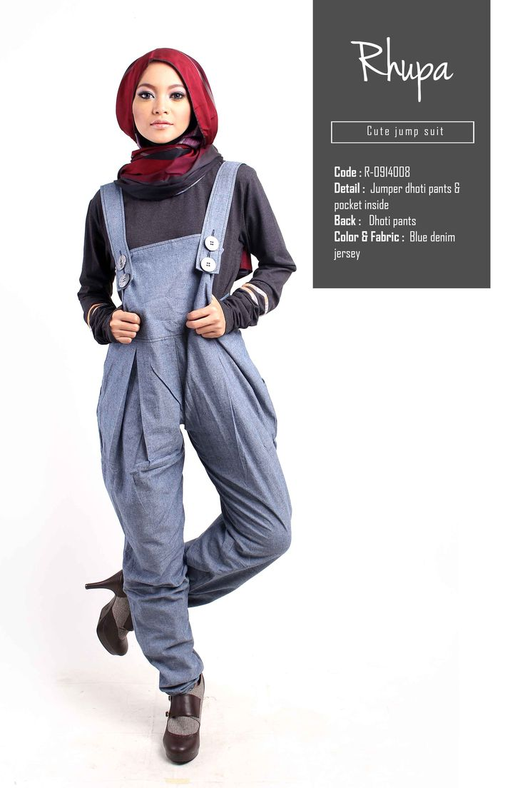 Cute Jump Suit By Rhupa Rhupa Streetstyle Casualwear Hijab Fashion Rhupa 39 S February