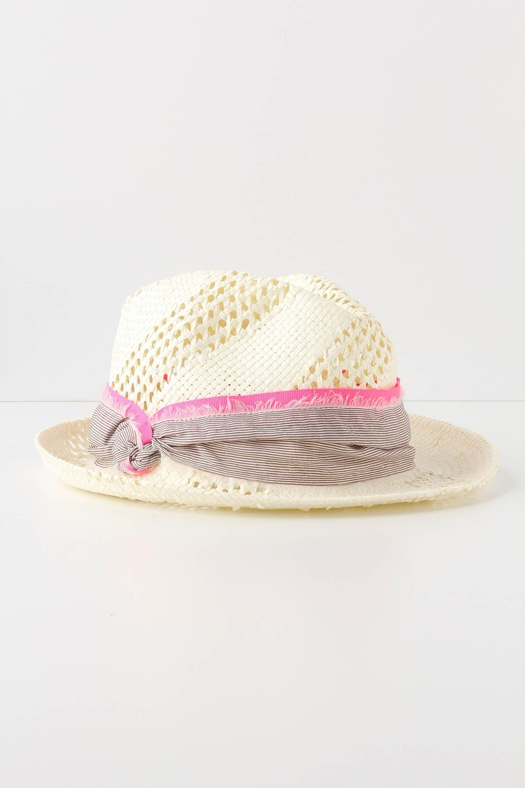 Too cute beach hat at Anthropologie