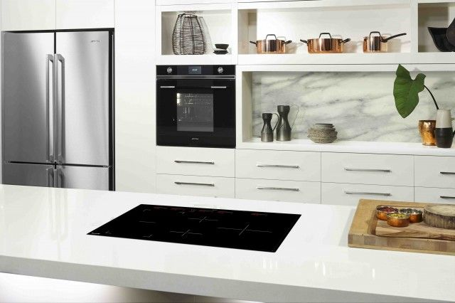 Smeg's SmartSense induction cooktops the fastest yet