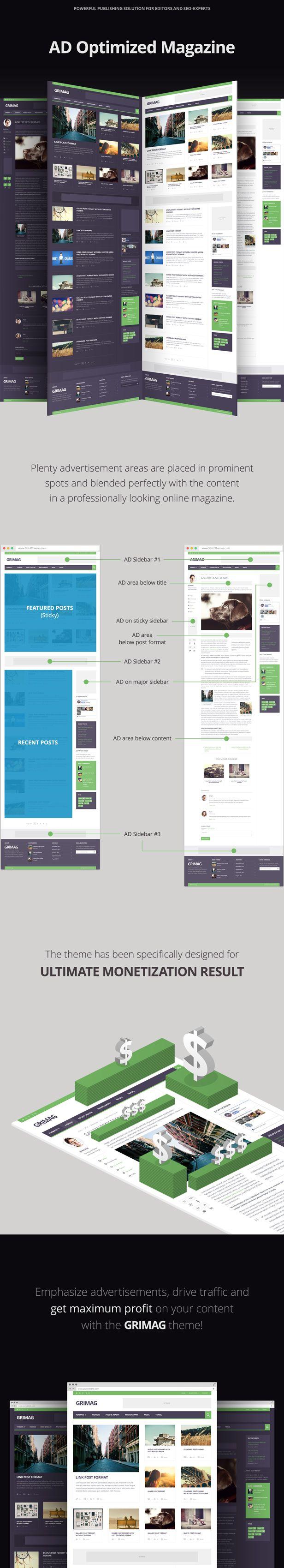 News Theme with BuddyPress Elements