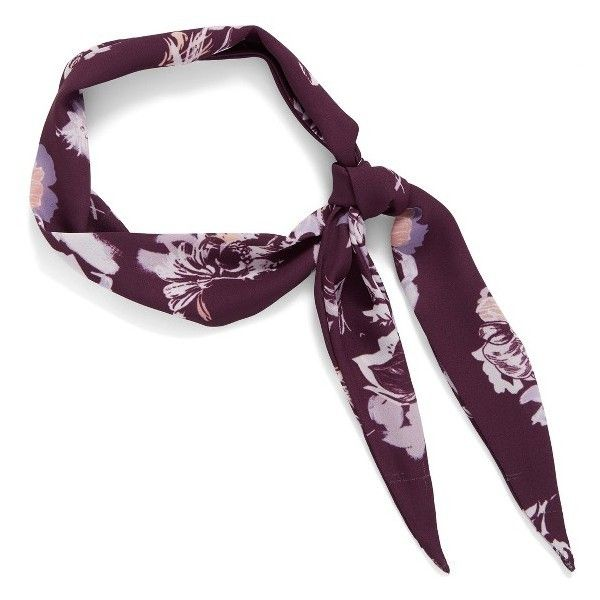 Women's Halogen Cutout Floral Neck Scarf ($19) ❤ liked on Polyvore featuring accessories, scarves, purple combo, floral shawl, purple shawl, halogen scarves, purple scarves and floral scarves