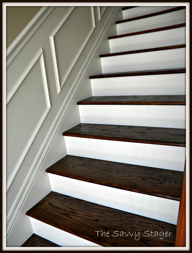 1000 ideas about redoing stairs on pinterest staircase for Ideas for redoing stairs