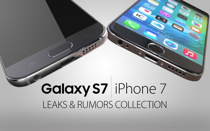 Samsung Galaxy S7 vs iPhone 7 Rumors & Leaks  #* #EverythingApplePro #GalaxyS7 #GalaxyS7vsiPhone7 #iPhone #iPhone7 #Sams... #video Samsung Galaxy S7 & iPhone 7 Rumors Heating Up. 3D Touch on S7? New Features To Expect on Both & Rumor Roundup! iPhone 7 Concept: ... ...