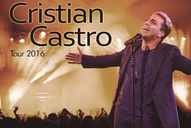 Cristian Castro regresa a la Argentina y se presentará en el Directv Arena #TOUR2016  El 1 de Octubre brindará un recital en el Directv Arena con un nuevo show donde interpretará sus más grandes éxitos y adelantará temas de su nueva producción discográfica.  Cristian ha cosechado una gran cantidad de éxitos a lo largo de su carrera entre los cuales sobresalen: 45 primeros lugares en el ranking del Top Latin Songs que lo posiciona en el podio de los tres mejores cantantes de habla hispana más…