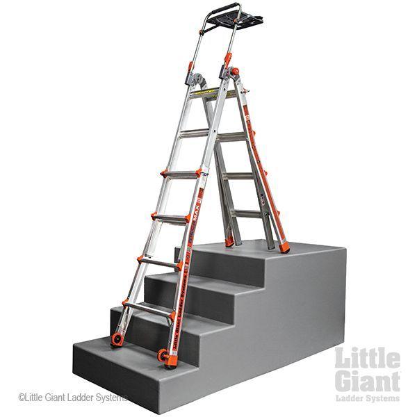 Little Giant Megamax 17 Ladder W Air Deck Little Giants Ladder