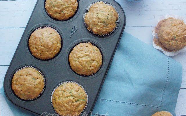 Υγιεινά muffins με καρότο, κολοκύθι, μπανάνα & μέλι