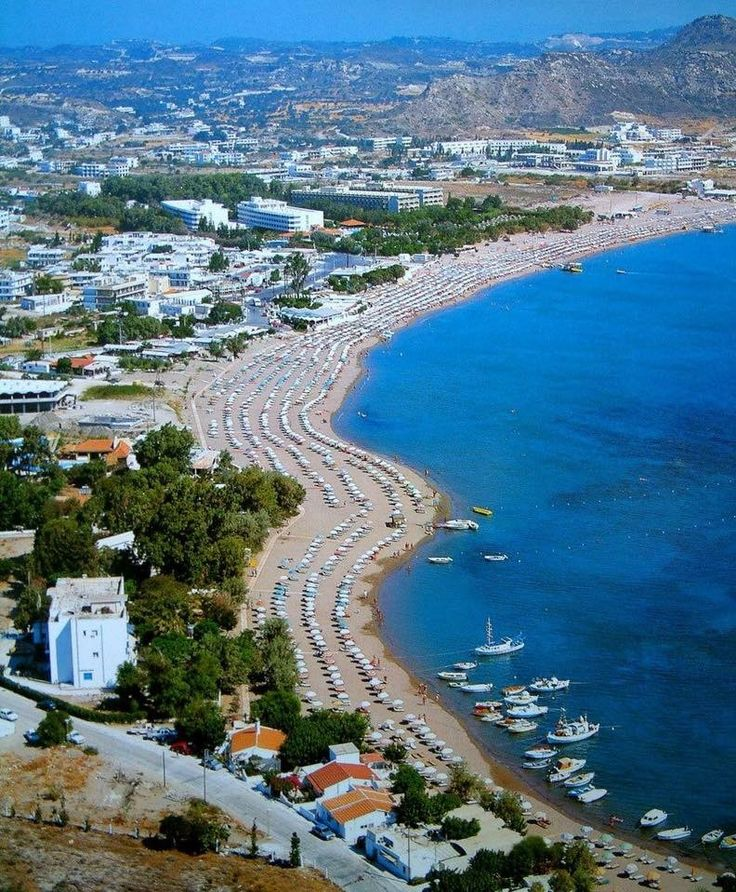 Faliraki Beach Faliraki Rhodes Greece