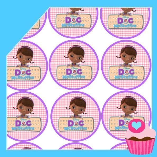 Edible Cake Toppers - cupcake images doc mcstuffins (all T1), $4.50 (http://www.ediblecaketoppers.com.au/cupcake-images-doc-mcstuffins-all-t1/)