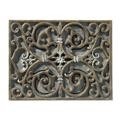 Craftmade CAR-RC Artisan Carved Recessed Doorbell Chime, Renaissance Crackle Part of the Artisan Series Collection by Craftmade Be the first to write a review  List Price$110.00Price$79.20 In Stock