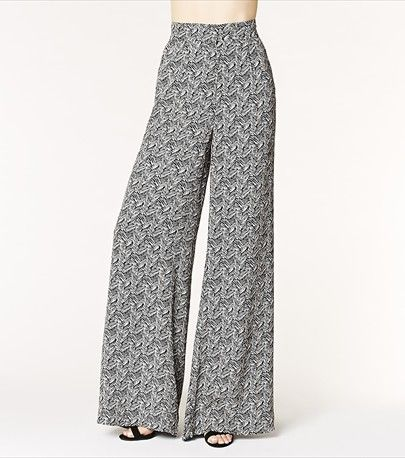 Add some flow to your wardrobe with these trendy palazzo soft pants! Pair them with one of our cropped tops.