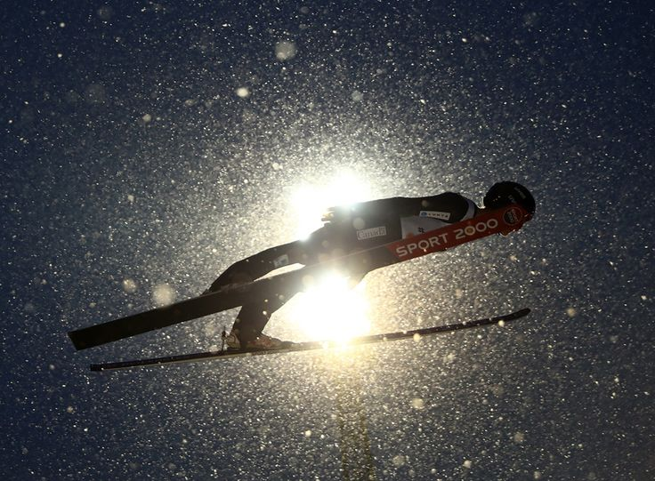 Taylor Henrich of Canada competes in the Women's Ski Jumping, Normal Hill Individual Competition, during the FIS Nordic Ski World Championships in Lahti, Finland, on February 24, 2017.