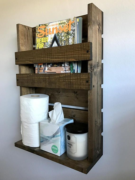 Rustic Magazine Rack With Storage Bathroom Advertise 24 7 In 2018 Pinterest And Racks