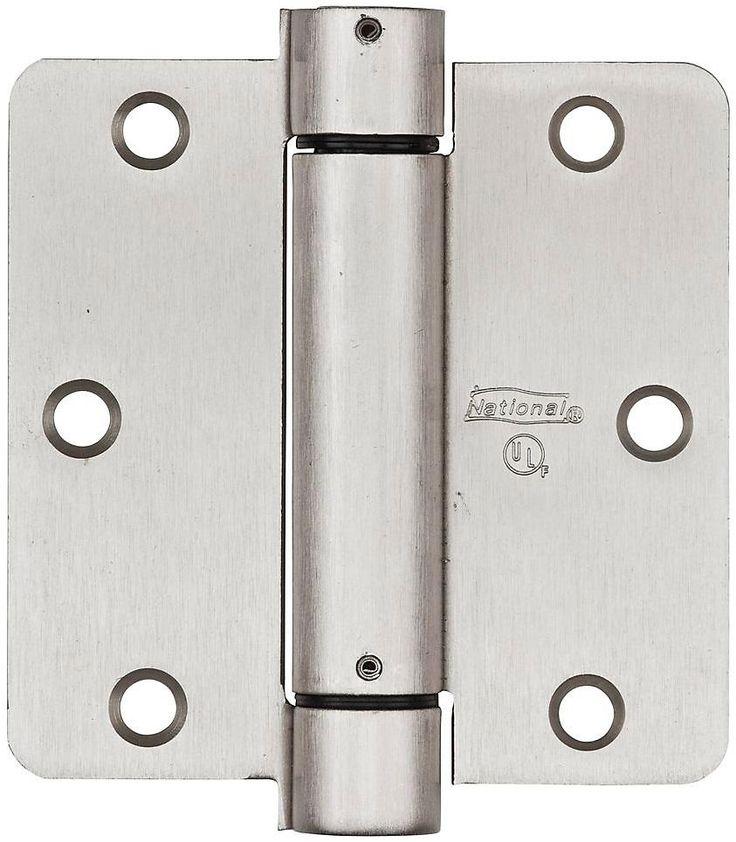 National hardware n350835 v521 adjustable spring hinge