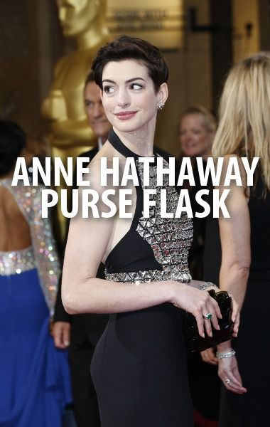 Anne Hathaway revealed her Oscars secret, a flask of tequila, to Kelly & Michael as she discussed reprising her role as Jewel in the animated film Rio 2.  http://www.recapo.com/live-with-kelly-ripa/live-with-kelly-interviews/kelly-michael-anne-hathaway-oscars-flask-andy-garcia-rio-2-review/