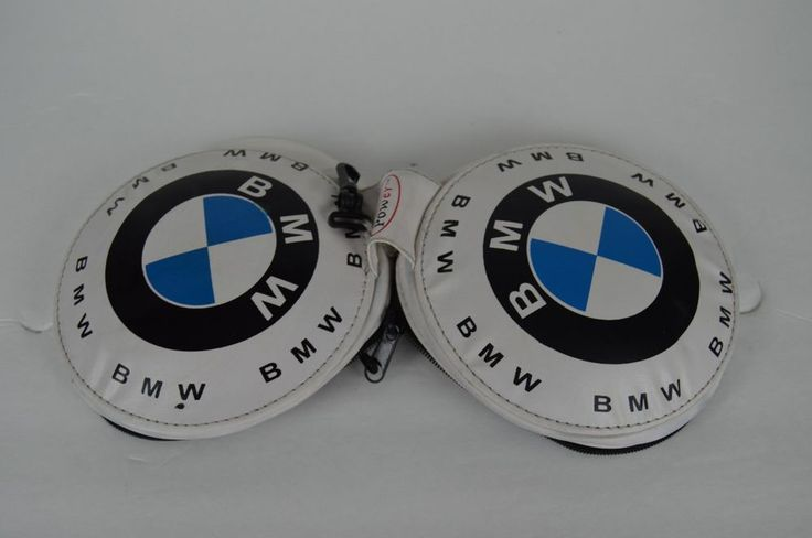 BMW CD DVD Case Holder Disk Storage Carry Cover White FREE SHIPPING #BMW