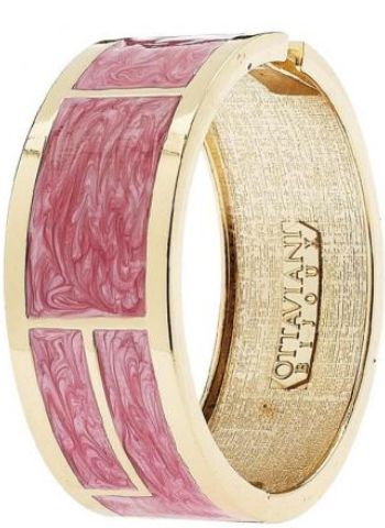 OTTAVIANI BIJOUX BANGLE SMALTO ROSA  Malaguti Ovada