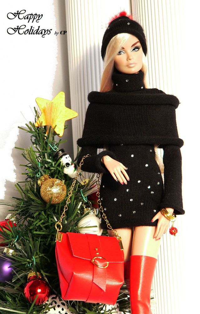 CP ITALIAN STYLE handmade outfit for FASHION ROYALTY ,BARBIE...