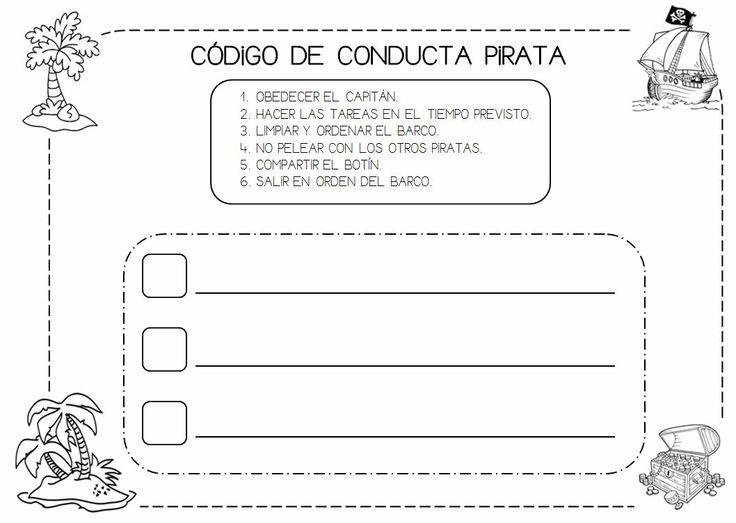 CÓDIGO DE CONDUCTA PIRATA