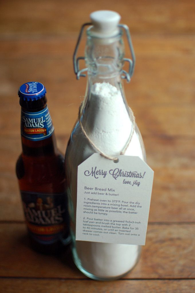 Simple Beer Bread Mix Gift