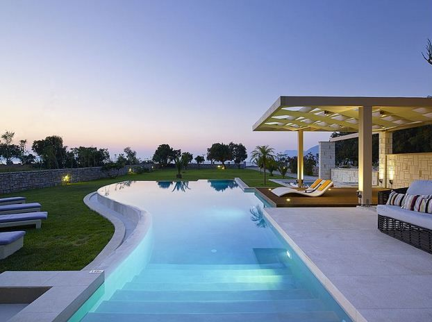 Luxury Home Swimming Pools 20 best luxurious house with overflowing swimming pool images on