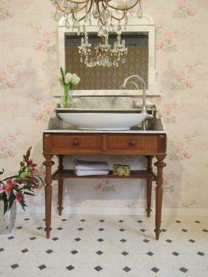Waschtisch antik  17 besten Waschtisch antik Bilder auf Pinterest | Waschtisch ...